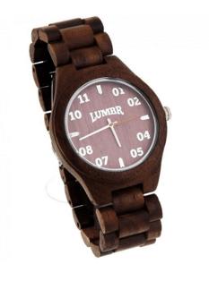 Lumbr - horloge hout