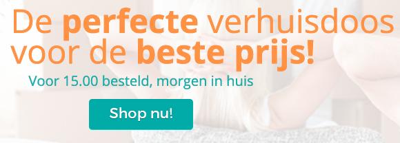 Verhuismateriaal nodig? | Ruim assortiment - Verhuisdozenstore.nl